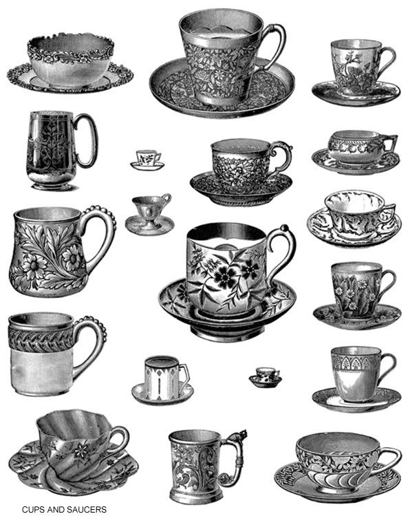 teacup clipart refreshments