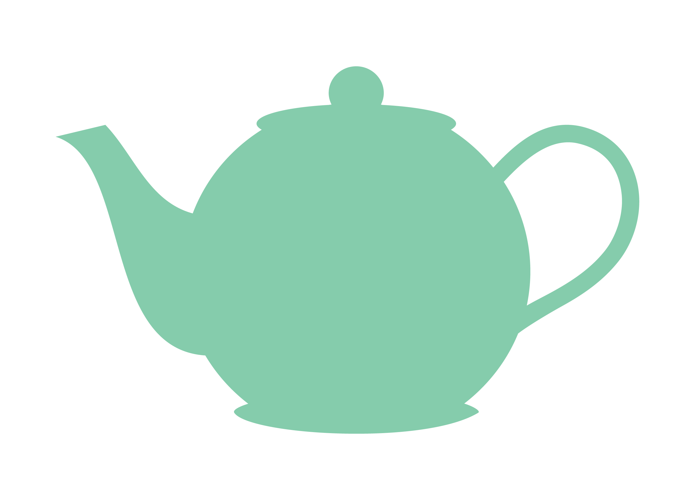 tea outline png