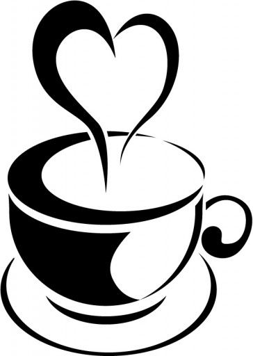 Teacup clipart steam line. Love heart tea cup