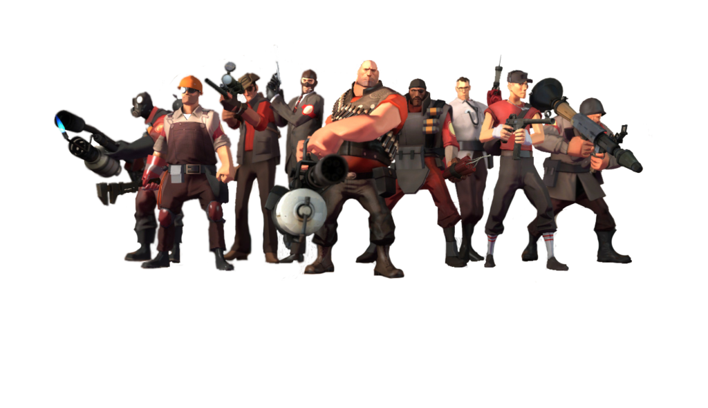 Team fortress 2 png. Render by quidek on