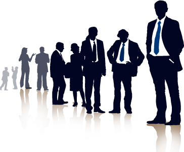 Team transparent business. Png free images only