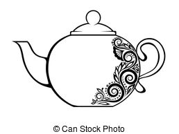 And stock illustrations vector. Teapot clipart clipart library library