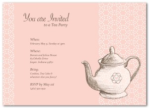 Teapot clipart mothers day. Printable invitation template