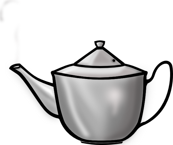 teapot with steam png