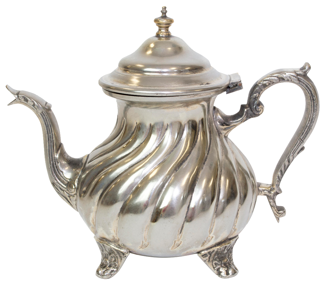 Teapot vintage png. Hammered moroccan chairish