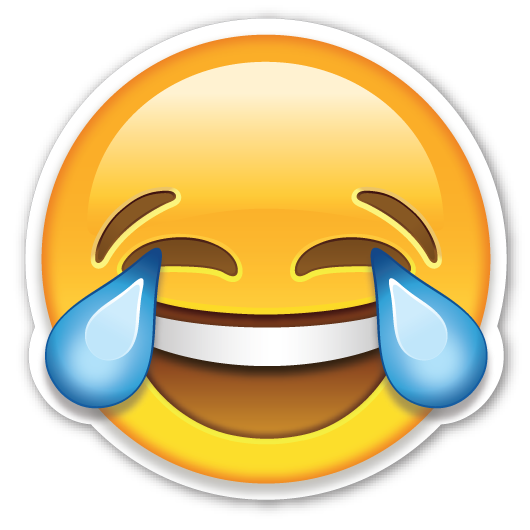 Tears of joy png. Face with emojistickers com
