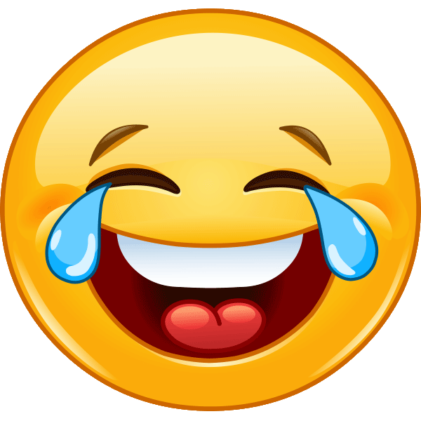 Tears of joy png. Image laughing smiley cries