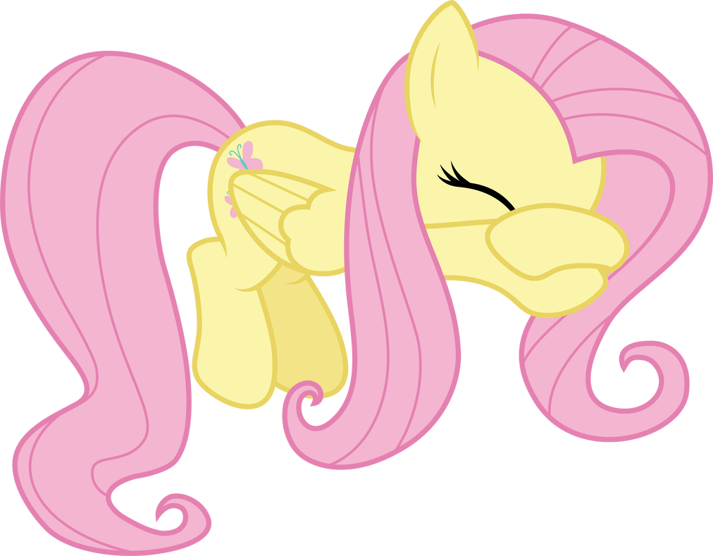 Tears vector animal. Fluttershy crying by cloudyglow