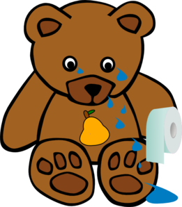Tears vector animal. Pearbear cry clip art