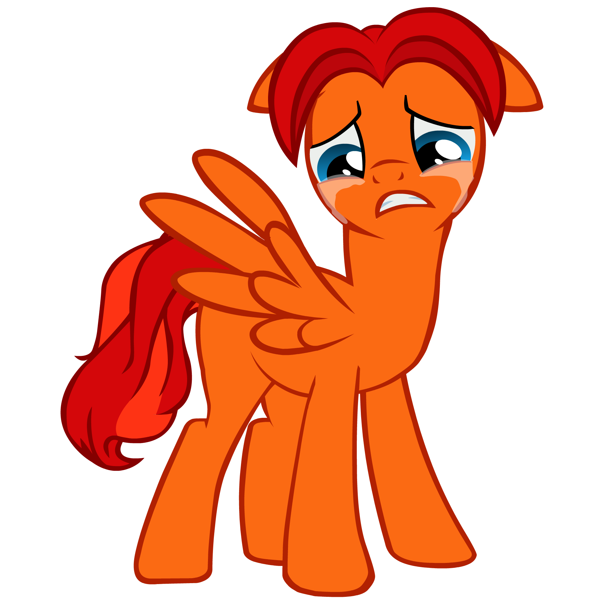 Tears vector animal. Goldblaze crying by goldenfoxda
