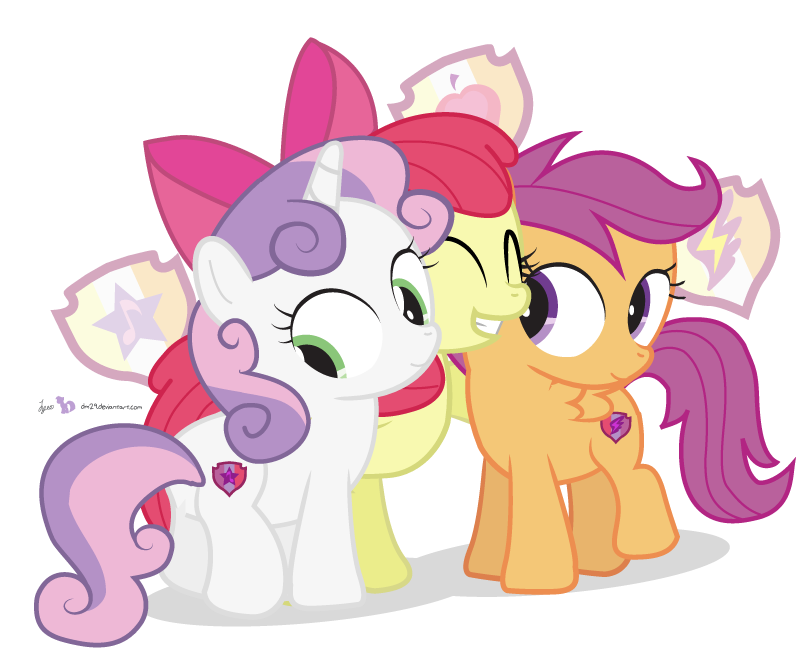 Vector tear cutie mark. The marked crusaders by