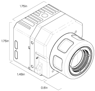 Technical specifications flir vue. Product drawing technology vector freeuse library