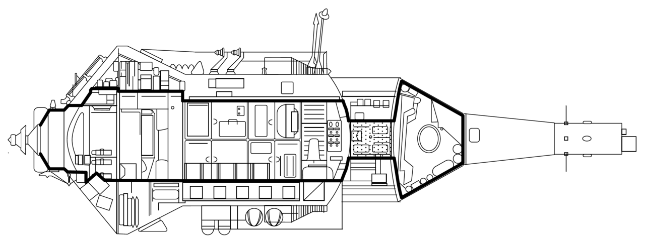 Tec drawing spacecraft. Va wikiwand cutaway of