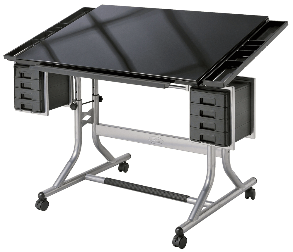 Tec drawing table. Board technical rubber wood