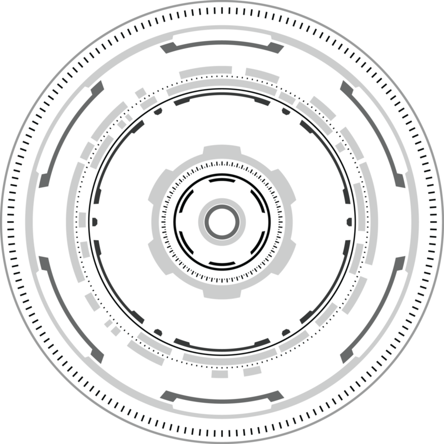 Tech circle png. Hud by digitalwideresource on