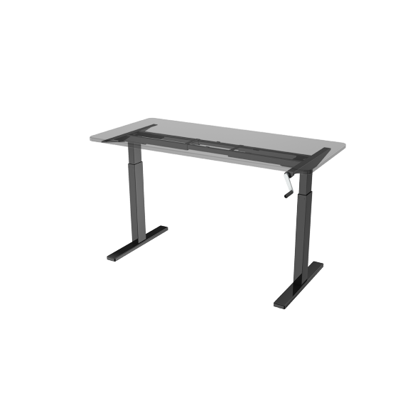 Tech drawing table. H desk frame manual