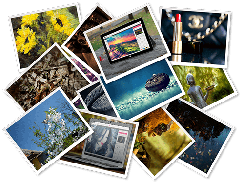 Technology clipart collage. Desktop photo editing