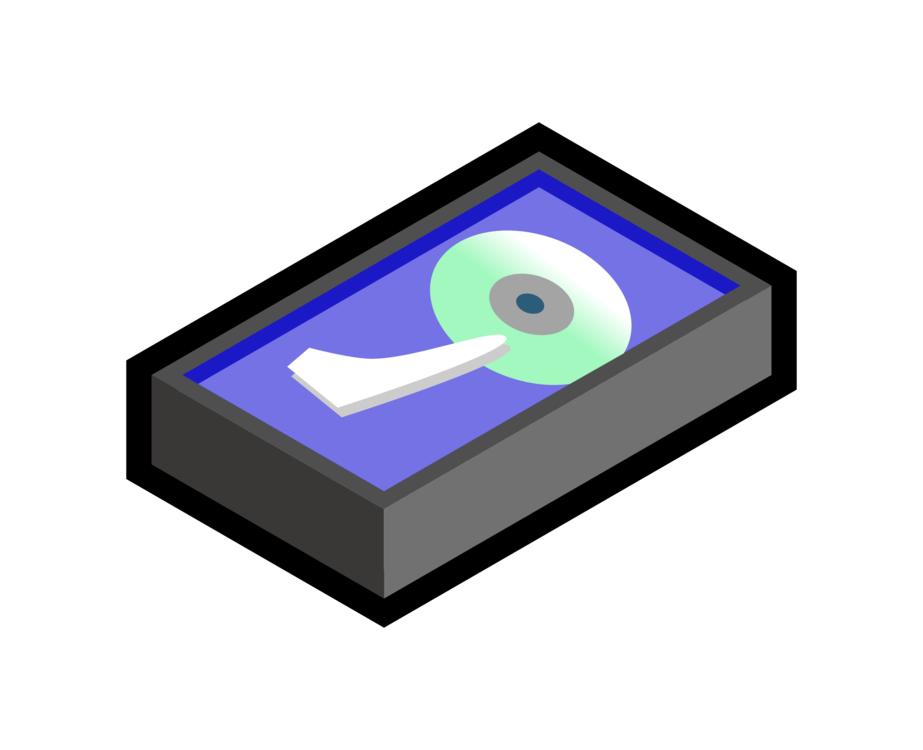 Drawing technology animation. Hard drives computer icons