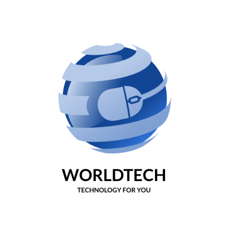 Technology clipart world technology. Free tech logo templates