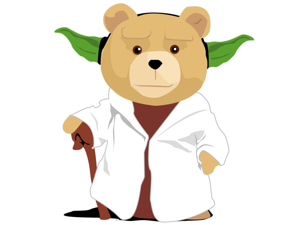 Ted clip. Yoda by guiledevian on