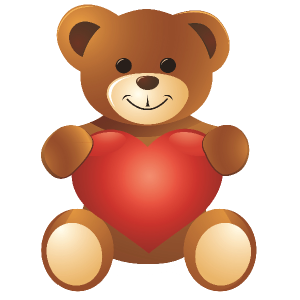 Bear clip standing. Image result for valentine