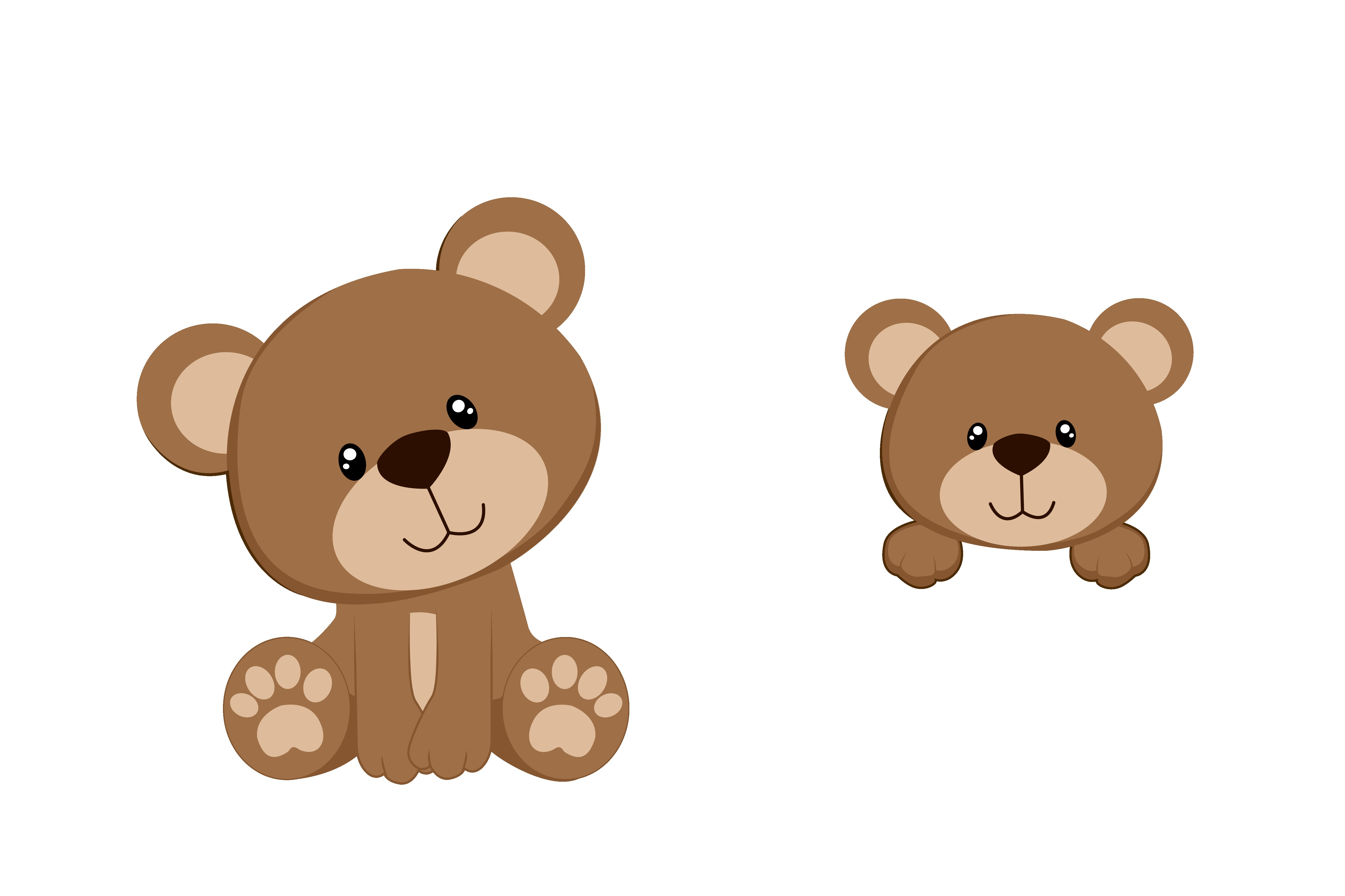 Teddy clipart little bear. Baby at getdrawings com