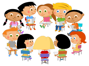 Teen clipart literature circle. Registration for new youth
