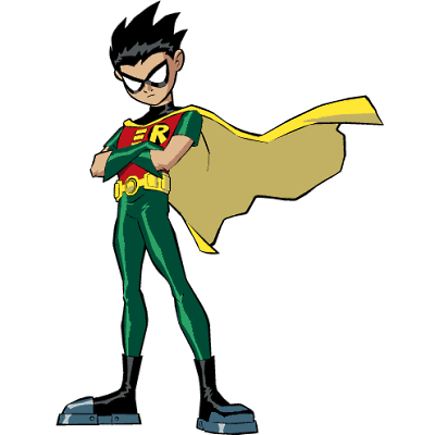 Teen titans robin png. Costume fight crime and