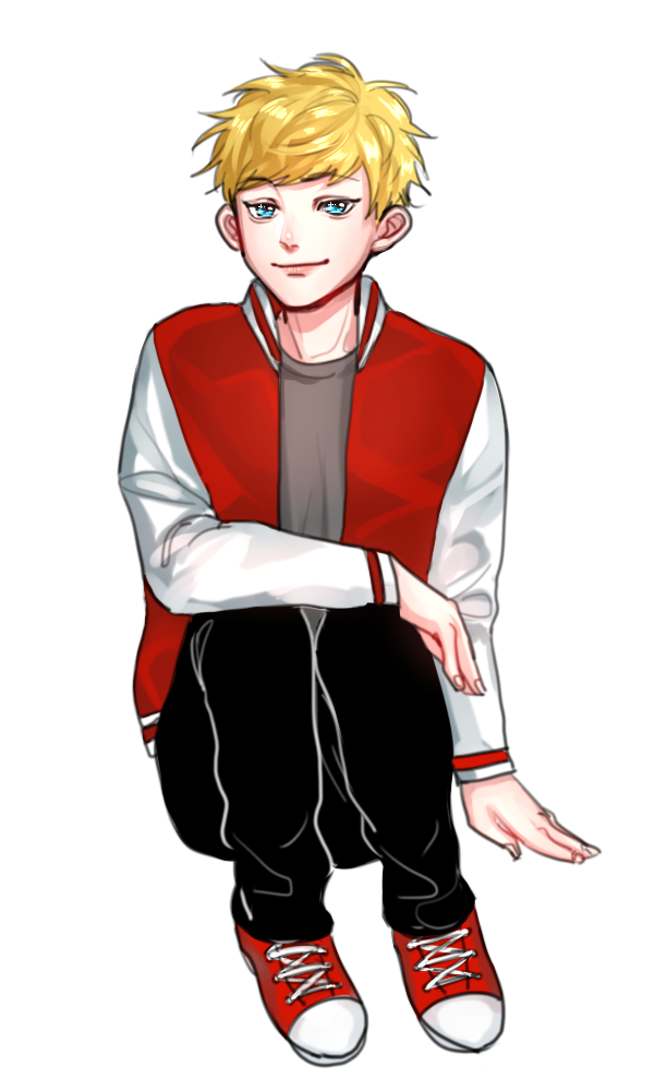 Teenage boy png. A by pposong on