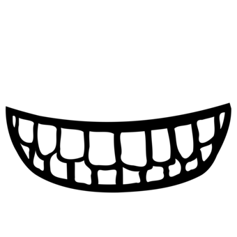 Lip mouth smile tooth. Drawing smirk human jpg black and white stock