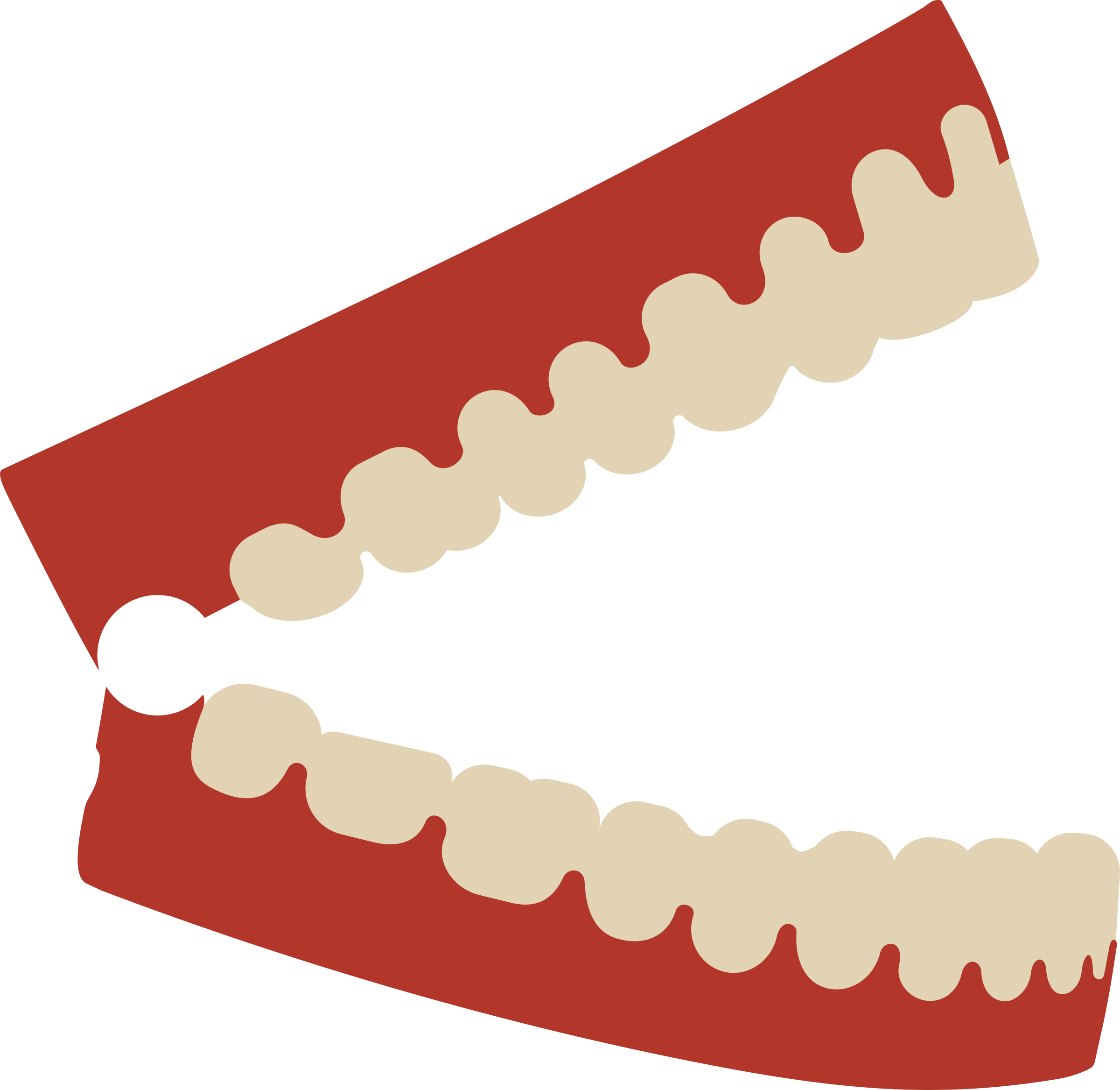 Chattering big image. Teeth clipart png banner free stock