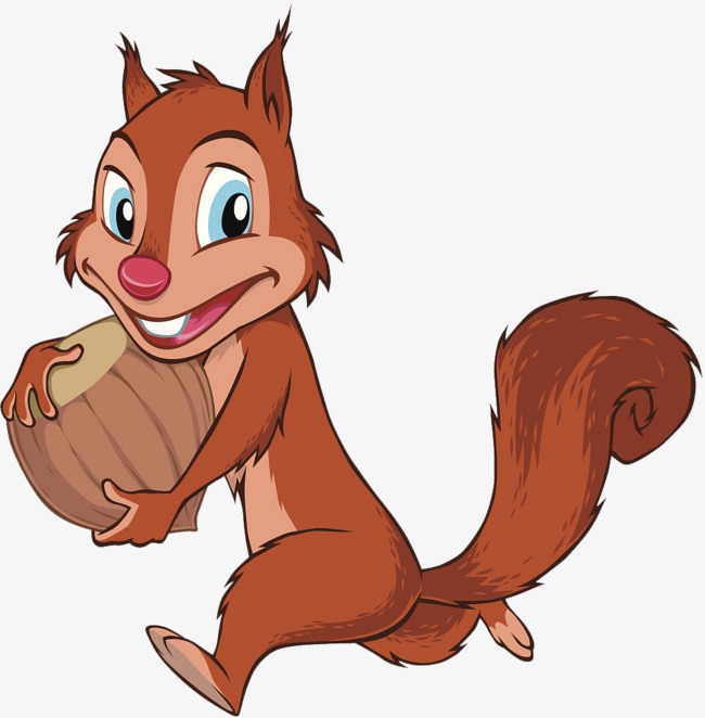 Teeth clipart squirrel. Comic illustration the front