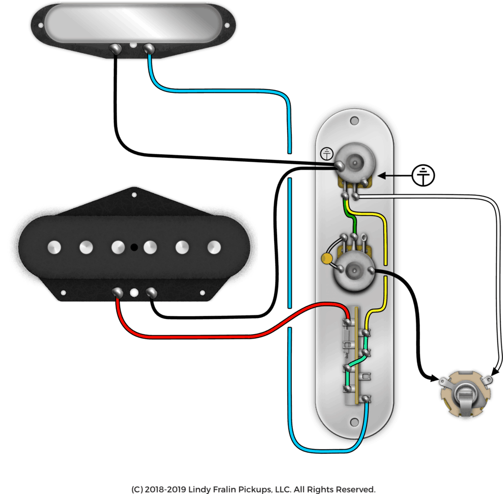 Telecaster drawing control plate. October mod of the