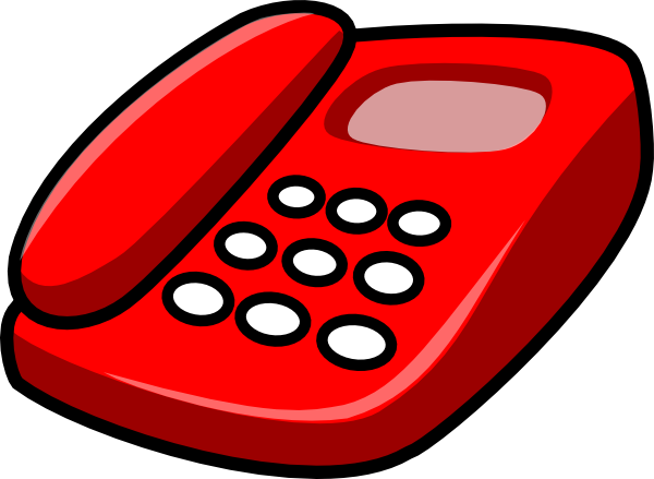 Telephone clipart. Animated