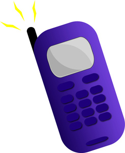 telephone clipart cellular phone