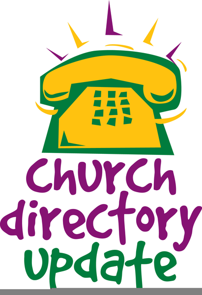 Telephone clipart church directory. Clip art real and