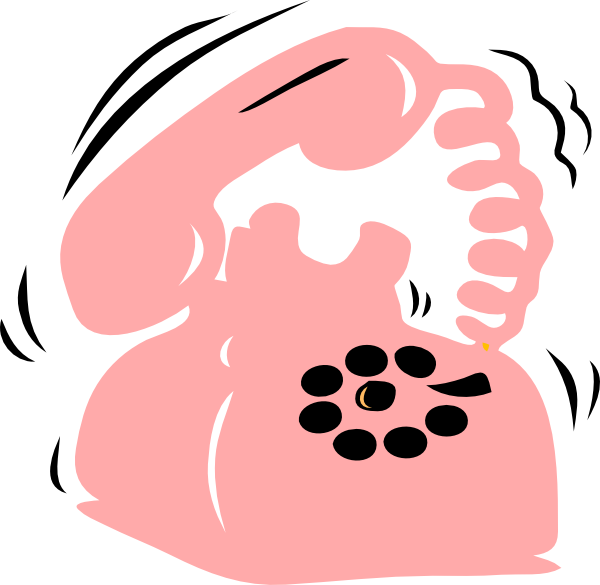 Telephone clipart clip art pink. Phone at clker com