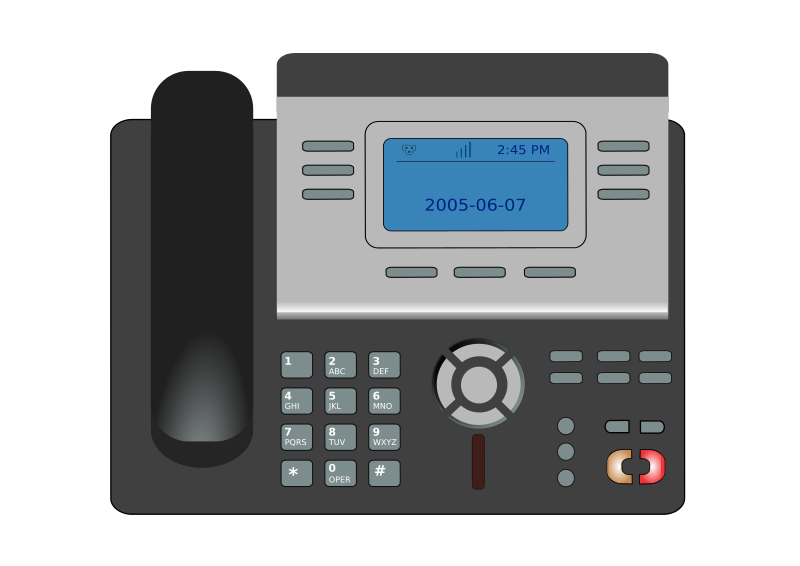 Telephone clipart ip phone. Voip