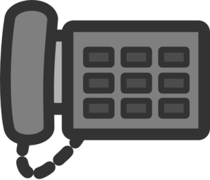 Telephone clipart ip phone. Office clip art at