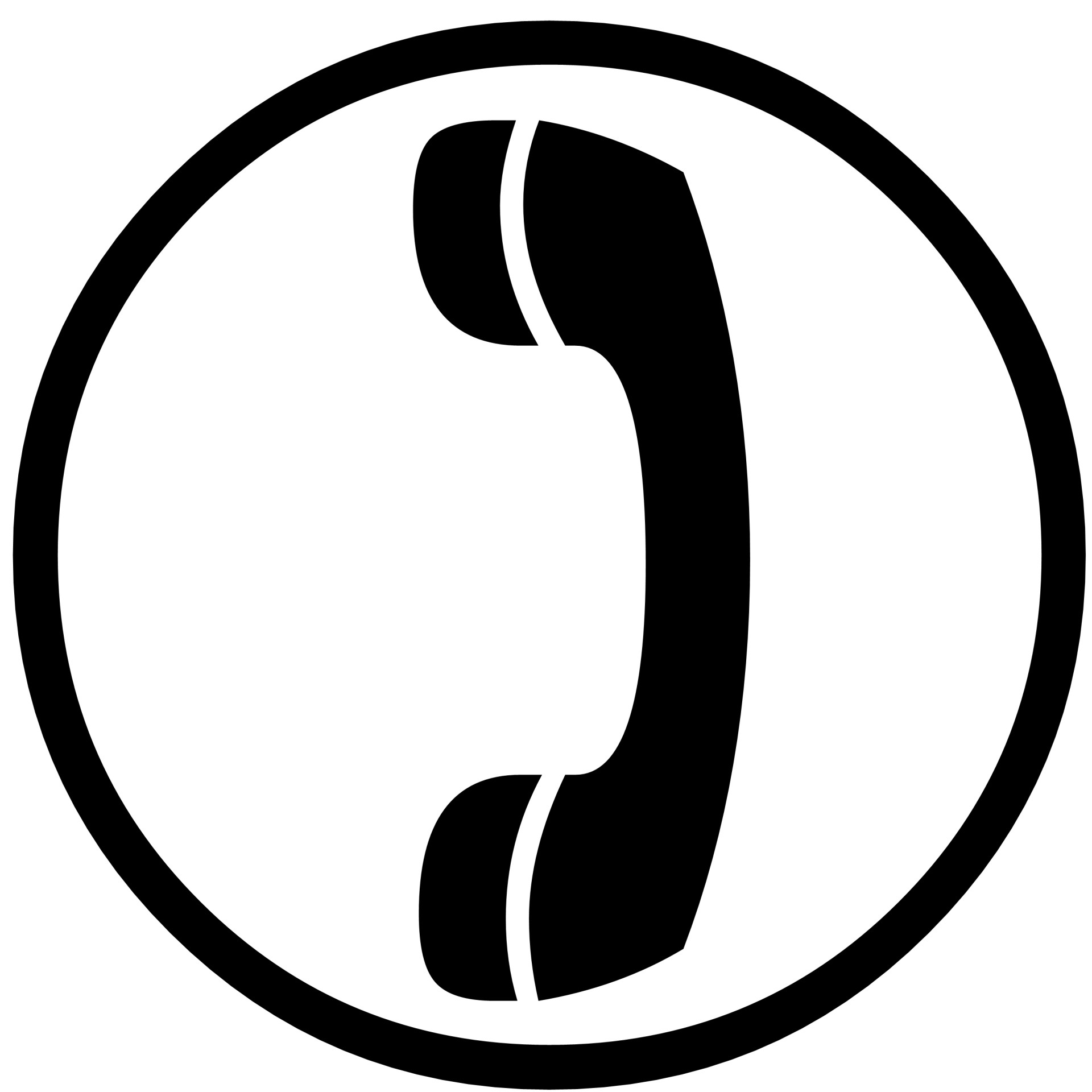 telephone clipart reciever