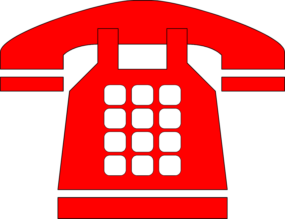Telephone clipart red telephone. Free images download clip