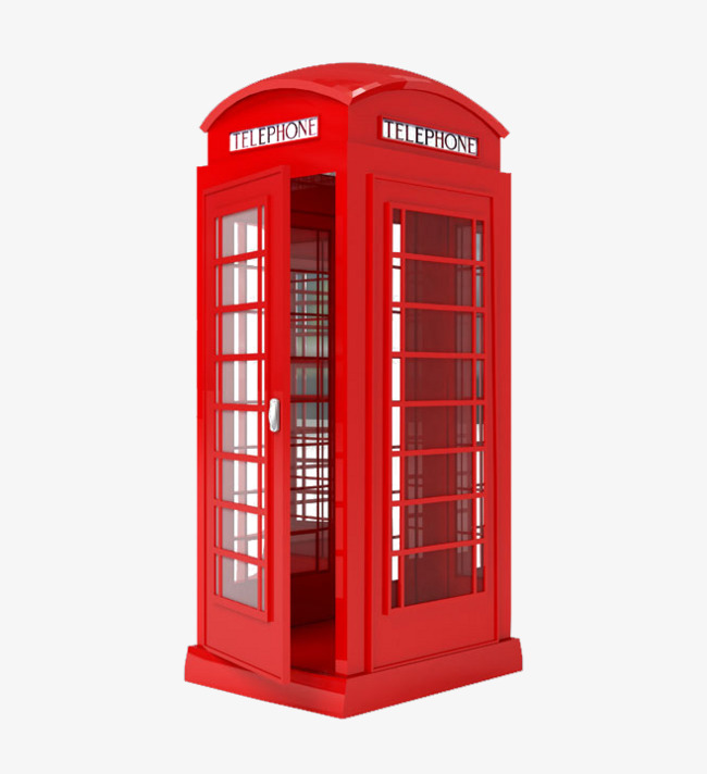 Telephone clipart red telephone. Booth phone png image