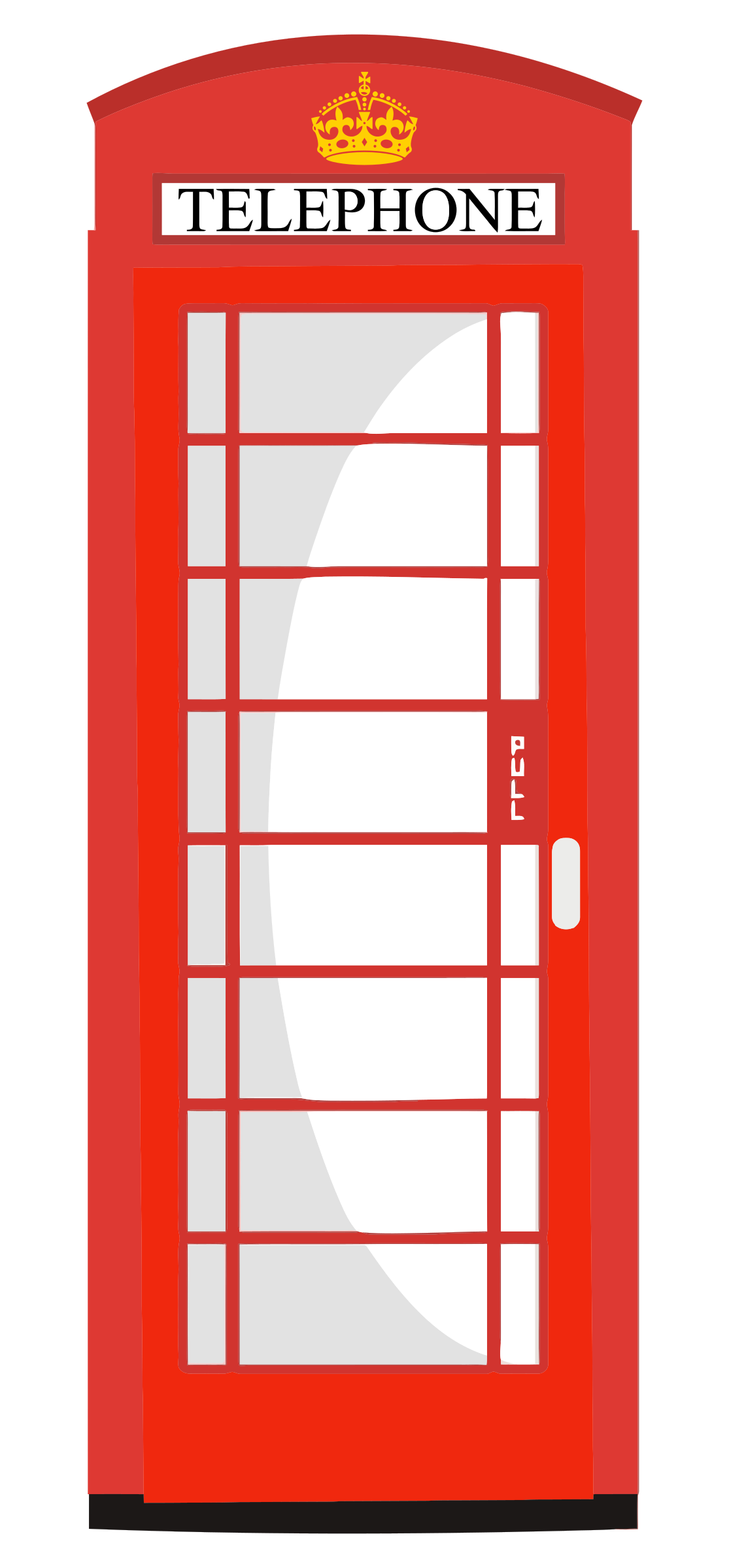 Telephone clipart red telephone. Box big image png