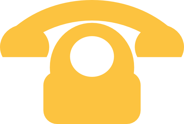 Telephone clipart yellow telephone. Phone clip art at