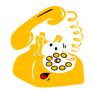 Telephone clipart yellow telephone. Free cliparts download clip