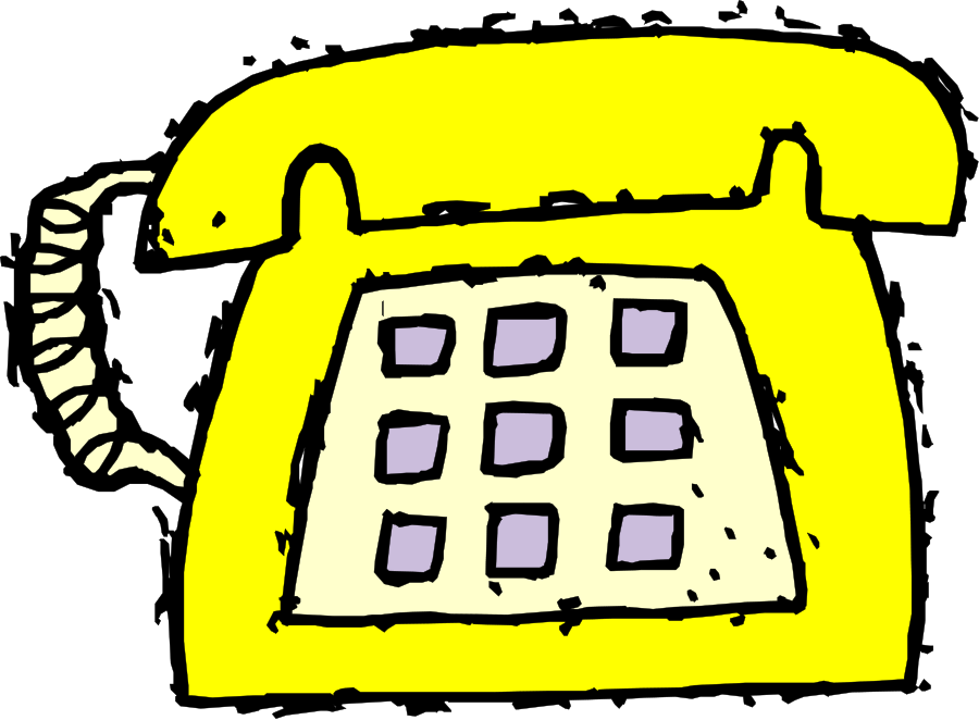 Telephone clipart yellow telephone. Free phone cliparts download