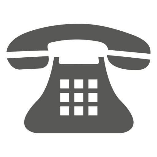 Phone .png. Vintage telephone icon transparent
