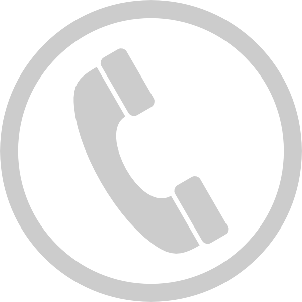Telephone icon png white. Phone clip art at