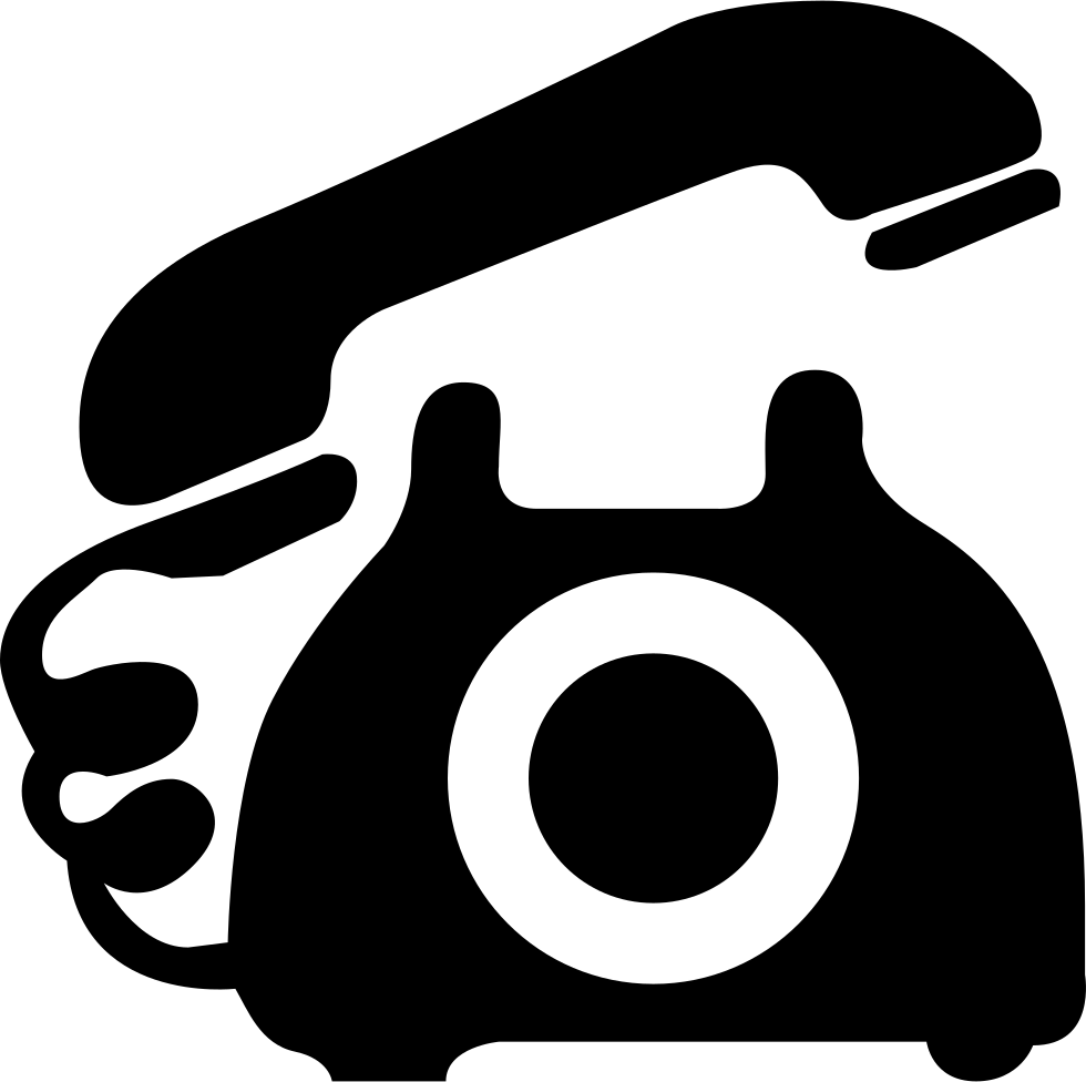 Telephone icons png. Svg icon free download