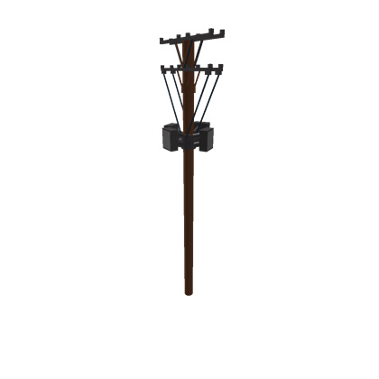 Telephone poll png. Pole roblox